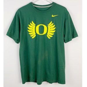 NIKE Oregon Ducks Short Sleeve T-Shirt L Regular